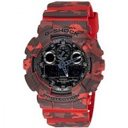 G-Shock Analog-Digital Grey Dial Mens Watch - Ga-100Cm-4Adr(G579)