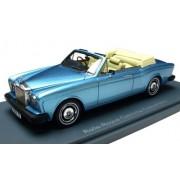 NEO 1/43 Rolls-royce Corniche Convertible Blue M (77-82)