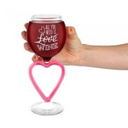 geschenkidee.ch Weinglas - All you need is wine