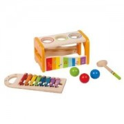 Toy / Game Educo Early Melodies Pound And Tap Bench With Great Fun Exploring Making Rhythm And Melodies