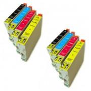 Epson T0551 T0552 T0553 T0554 Pack 8 Cartuchos Compatibles
