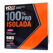 VOXX Suplementos 100% Pro Isolada Sabor Morango 900g Cimed
