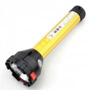 Lanterna LED cu Acumulator si Panou LEDuri Alb Rosu Albastru 789