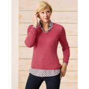 Walbusch Merino-Pullover V-Ausschnitt
