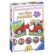 Puzzle Vehicule, 9x2 piese