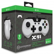 Licensed X91 90's Style Controller XBOX 1 & PC Controller - White