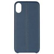 Essentials Stripe Cover (iPhone Xr) - Vit