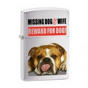 Zapalovač Zippo 21828 Missing Dog and Wife + Možnosť GRAVÍROVANIA + Benzín Zadarmo