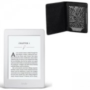 ЧЕТЕЦ ЗА Е-КНИГИ NEW 2015 Бял Kindle Paperwhite III, 6 инча, 300 ppi with Built-in Light, Wi-Fi - Includes Special Offers, Калъф HAMA Arezzo