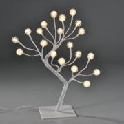 [in.tec]® Коледна декорация - Дърво с LED лампички-украса за маса - 45 см.