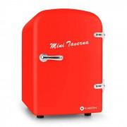 Mini Taverna koelkast 4L rood