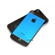 iPhone 4 Bakstycke Borstad Blå (Svart BT)