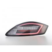 FK-Automotive fanali posteriori a LED con lightbar Porsche Boxster tipo 987 anno di costr. 04-09 neri