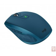Logitech Anywhere MX 2S, Cordless Laser Mouse, micro receiver, USB, midnight teal