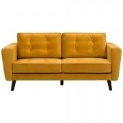 Zetel Bristol 2,5-zits - geel - Leen Bakker