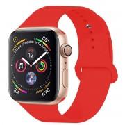SERO Armband För Apple Watch I Silikon, 42/44mm, Röd