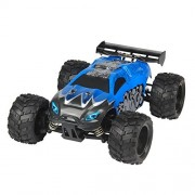 RC Trucks G18-1 2.4Ghz Electric 4WD Shaft Drive Monster Truck 45Km/h High Speed Buggy -Blue