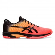 Asics Solution Speed FF L.E. Clay Tennisschoenen Heren - koraal