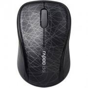 Безжична оптична мишка RAPOO 3100P, 5.8 Ghz, Черен - RAPOO-10688