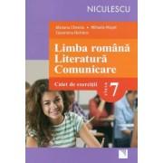 Limba romana. Literatura. Comunicare. Clasa a VII-a. Caiet de exercitii