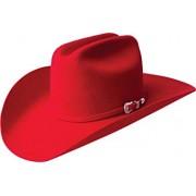 Bailey Men's Western Lightning 4X Hat Red 7 3/4