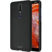 Azuri Flexible Sand Nokia 3.1 Plus Back Cover Zwart