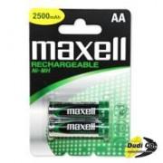 Maxell punjiva baterija AA 2pak R6