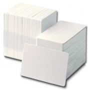 PVC карта Zebra Premier, CR80, 30mil, бяло, 100 карти