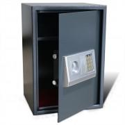 vidaXL Elektronický digitální trezor s poličkou 35 x 31 x 50 cm