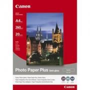 Хартия Canon Photo Paper Plus semi-glossy, SG-201 A4, 20 sheets per pack - 1686B021AA