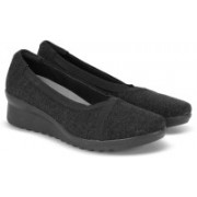 Clarks Caddell Dash Black Corporate Casuals For Women(Black)