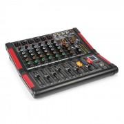 Power Dynamics PDM-M604 Mesa de mezclas 6 entradas para micrófono Procesador multi-FX de 24 bits (Sky-172.604)