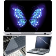 Finearts Laptop Skin 15.6 Inch With Key Guard & Screen Protector - Abstract Series 1075