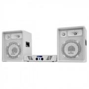 """Electronic-Star DJ-PA Set White Star Series """"Arctic Storm"""" 800W (PL-AU-WH-800-2.0)"""