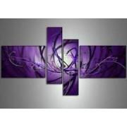 EVA JEKINS Tableaux design abstrait violet