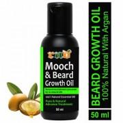 RND Mooch and Beard Growth Oil Hair Oil (50 ml) (RND-GREEN BEARD-50ML)