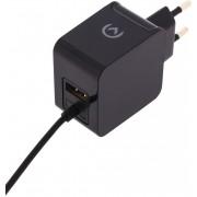 Mobilize Lader 2-Uitgangen 3.1 A Micro-USB Zwart