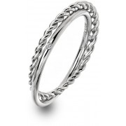 Hot Diamonds Inel de argint de lux cu diamantul drept Jasmine DR210 51 mm