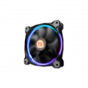 Ventilador Thermaltake Riing 12, 120 mm con LED 256 colores RGB, 1500
