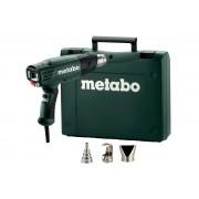 Пистолет за горещ въздух, METABO HE 23-650 CONTROL, 2300W, в куфар с дюзи (602365500)