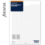Filofax Jegyzetlapok Négyzethálós A4 Fehér