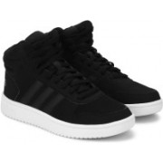 ADIDAS HOOPS 2.0 MID Casuals For Men(Black)