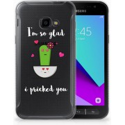 Samsung Galaxy Xcover 4 TPU Hoesje Design Cactus Glad