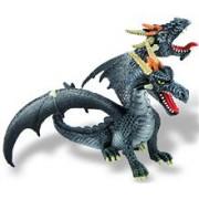 Dragon Negru Cu 2 Capete