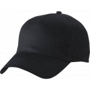 Myrtle Beach 5-panel baseball cap zwart dames en heren