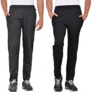 Pack of 2 Mid-Rise Track Pants (Combo)