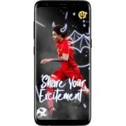 Samsung Galaxy S8+ - 64GB - Inclusief Rode Duivels Smart Cover - Zwart