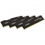 Memorie HyperX Fury Black 32GB DDR4 2133 MHz CL14 Quad Channel Kit