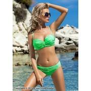 Bikini med rynkeffekter