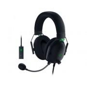 Razer Auriculares Gaming con cable RAZER Blackshark V2 + Card Sound (Multiplataforma - Micrófono - Negro)